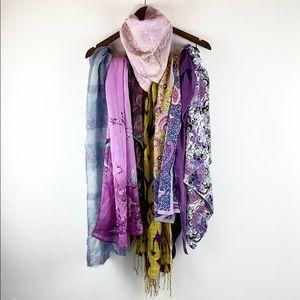 🍇 Shades of Purple BUNDLE of 8 Scarves!! 🍇